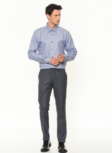 Beymen Business Slim Fit Klasik Pantolon Koleksiyon 4B0119100030 Mavi